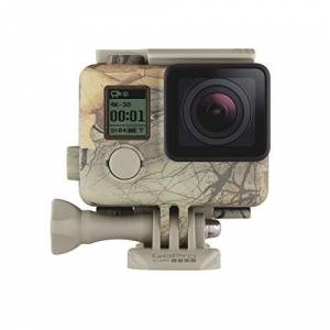 GoPro Camo Housing + QuickClip (Realtree Xtra) ( Official Accessory)