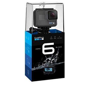 GoPro CHDHX-601-RW Cámara de Acción Hero 6, 4K, 60 FPS, 1080p, color Negro