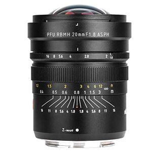 Serounder Lente F1.8 de 20 mm, Cristal óptico Profesional + aleación de Aluminio Marco Completo Lente de cámara de Enfoque Manual para Nikon Z6 Z7 y Otras cámaras con Montura Z