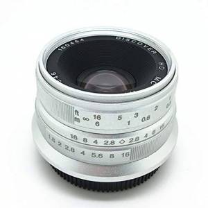 Formulatoom 7 Artesanos 25mm F1.8 Lente Primera a Todas Las Series Individual para Canon Metal Micro 4/3 Cámaras Accesorios E-Monte Enfoque Manual