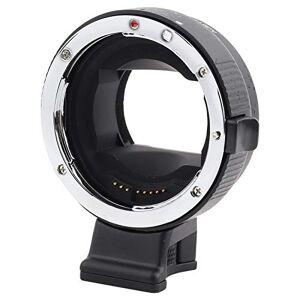 Mugast Anillo adaptador de montura de lente, Adaptador de lente de enfoque automático profesional (AF) con ranura, Adaptador de montura de lente para lente para Canon EF / EF-S, para cámara para Sony con montura E.