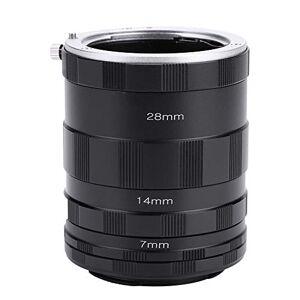 Tosuny Adaptador de Lentes de Anillo Tubo de Extensión de Lente Macro para Fujifilm, tamaño 7mm, 14mm, 28mm