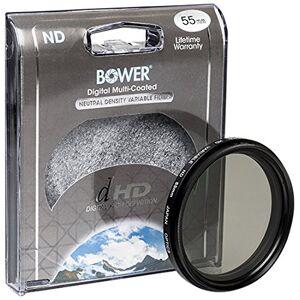 BOWER FN55 Variable Neutral Density Filter 55 mm (Black)