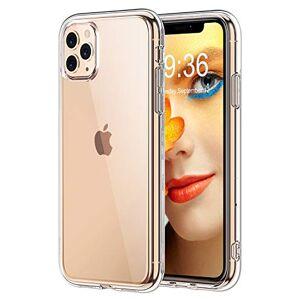STOON Carcasa para iPhone 11 Pro MAX (6,5 Pulgadas, 2019, antiarañazos, absorción de Golpes), Transparente