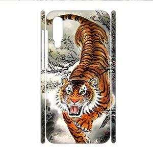 Babu Building Imprimir con Asian Tiger Niños Usar como Galaxy A70 Cáscara Dura Rígida del Teléfono De Plástico A Prueba De Choques
