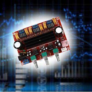 HOBfuMX Aiyima TPA3116 2.1 Amplificador de Audio Digital Altavoces Subwoofer Amplificadores TPA3116d2 DC12V 24V 2 * 50W + 100W