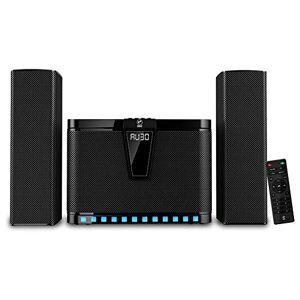 HF-AUDIO Barra De Sonido Y Componente 2.1 Iluminación LED