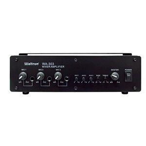 WELTRON componente de Audio Amplificador, Color Negro (wa-303)