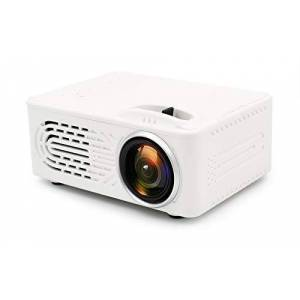 OUYAWEI Mini proyector portátil Home Theatre Cinema Video Media Player, White AU Plug