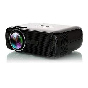 Amerryllis BL-80 Manual Focus Digital LED Proyector 2300lm HD 3D Proyector Home Cinema Theater Hogar Media Player VGA USB AV HDMI