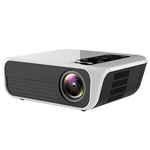 HAWK LI Proyector, proyector LED nativa 1080P 4500 Lux Video Full HD proyector (1920 x 1080) Apoyo 4k, del hogar y al Aire Libre proyector Compatible con HDMI, USB, AV