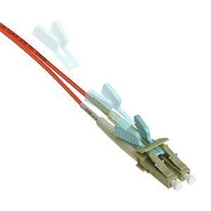 NTW Cable de conexión de Red de Fibra óptica Patentado, OM2, Anaranjado, 1 Meter / 3.3 Feet