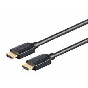 Monoprice Ultra 8K High Speed HDMI Cable 6 Feet Black (5-Pack) 48Gbps, 8K, Dynamic HDR, eARC, UHDTV, AMD FreeSync DynamicView