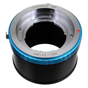 Fotodiox DKLB-FX PRO lente para cámara fotográfica, adaptador Adaptador para objetivo fotográfico (Negro, Azul, Latón, Acero inoxidable, Fuji X-Pro1, X-E1, X-M1, X-A1, X-E2, X-T1 Balda Baldamatic III, Braun Tower 33, 34, Paxette Reflex A)