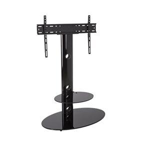 "AVF FSL800LUB-A 65"" Portable flat panel floor stand Negro soporte de piso para pantalla plana Soporte de pie para pantalla plana (Negro, Portable flat panel floor stand, 165.1 cm (65""), TV, 40 kg, 75 x 75 mm)"