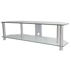 """AVF SDC1400CMBB-A Soporte de Piso para Pantalla Plana Portable Flat Panel Floor Stand Negro 165.1 cm (65"""") Soporte de pie para Pantalla Plana (TV, 60 kg, 165.1 cm (65""""))"""