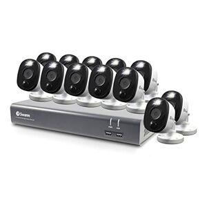 Swann Sistema de Seguridad Dvr de 12 cámaras de 16 Canales 1080P