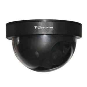 Clover Wisecomm du513DomeCámara de Seguridad simulada (Tamaño pequeño), Color Negro