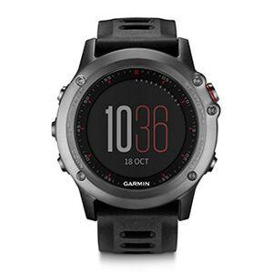 Garmin Fenix 3 Reloj multideporte Gris con extensibles negros sin banda de frecuencia cardiaca