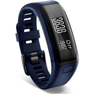 Garmin Vivosmart HR Pulsera de actividad física inteligente con frecuencia cardiaca, Nuevo, Azul Media Noche, Regular