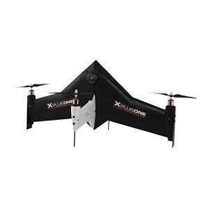 Xcraft rc1-xp1-001-BK Drone Quadcopter Bundle, videocámara, Color Negro