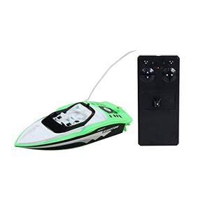 PandaMfee 3392M 27MHZ Rechargable Mini Electric Sport RC Barco de Control Remoto Barco de Alta Velocidad para niños Juguetes para niños Regalo