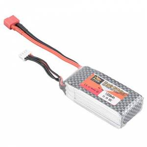 KMtar5MX ZOP Power 11.1V 1300mAh 30C 3S 1P Lipo Battery T Plug Rechargeable for RC Racing Drone Quadcopter Helicopter Car Boat