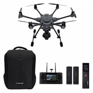 Yuneec Typhoon H Pro with Intel RealSense Technology Ultra High Definition 4K Collision Avoidance Hexacopter Drone with 2 Batteries, ST16 Controller, Soft Backpack and Wizard