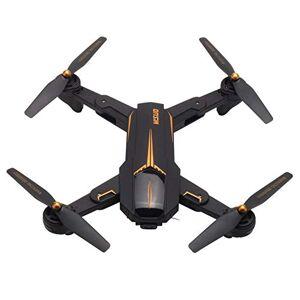 HOBFU XS812 GPS Drone Quadcopter RC Plegable con cámara de 2MP HD WiFi + GPS Aviones de posicionamiento Altitud Aviones de helicóptero de retención (Negro)