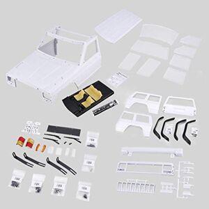 KMtar5MX AX-313 12.3inch/313mm Wheelbase Body Shell DIY Kit for 1/10 RC Truck Crawler Axial SCX10 & SCX10 II 90046 90047
