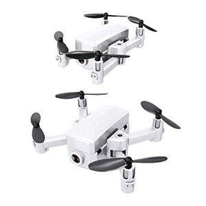 ankt777 Drone Plegable GPS Posicionamiento satelital WiFi Disparo aéreo Altura Fija Control Remoto Aviones Juguete Cámara HD Vídeo en Vivo