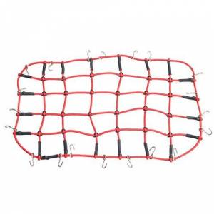 Cecileie Luggage Net Mesh Storage Luggage Cargo Luggage Roof Rack Net Decorative Accessories For 1/10 RC Car Crawler D90 Traxxas TRX-4