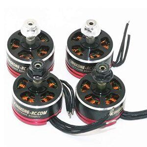 HATCHMATIC 3650 5200KV Motor sin escobillas con 60A ESC Combo fijado para el OCDAY Asciende a Prueba de Agua para 1/10 RC Coche camión: ESC y 3900KV Motor
