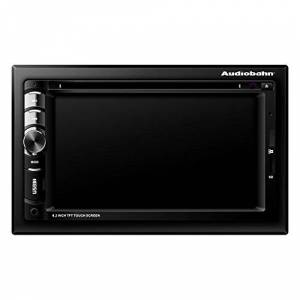 "Audiobahn Autoestéreo con Pantalla de 7"" 2 DIN Touch Screen. Panel automático. Compatible MP4/DVD/SD/WMA/CD/MP3/AM/FM/USB/AUX/Sistema TV/Bluetooth"