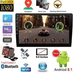 SZXHT-0411CEABB3979B4D N/A 2DIN reproductor multimedia para coche, 22,8 cm / 10,1 pulgadas, con GPS, autoradio, Bluetooth, WiFi, radio estéreo para coche, MirrorLink, 2Din, cámara de radio de 9 pulgadas