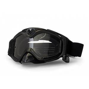 Liquid Image XSC Xtreme Sport Cams 384 All-Sport S/BLK HD Camera Goggles with Video Camera and LCD Screen (Solid Black)