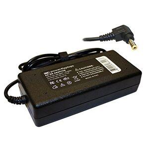 Power4Laptops Adaptador Fuente de alimentación Cargador Compatible con Rock NBP001312-00