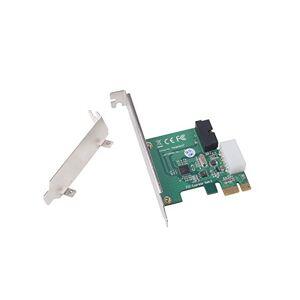Silverstone EC01-P Adaptador USB PCI Express 2.0 x1 de Perfil bajo