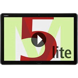 "Huawei MediaPad M5 Lite Tablet (25.6 cm (10.1""), 1920 x 1200 Pixeles, 32 GB, 3 GB, Android 8.0, Gris)"
