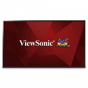 "ViewSonic CDE4803 48"" 1080p Commercial LED Display with USB Media Player, HDMI"