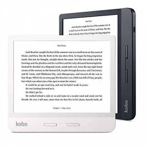 "Kobo - Accessories Kobo Libra H20 7"" HD E Ink Pantalla táctil, Color Blanco Pantalla táctil"
