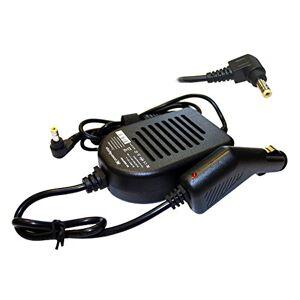 Power4Laptops Adaptador DC Cargador de Coche portátil para DELL Inspiron 1300-b130