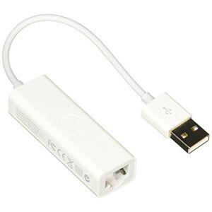 Apple MC704BE/A Adaptador de USB a Ethernet, Color Blanco