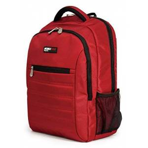 Garmin Smartpack 15.6 Inch Laptop Backpack with Separate Padded Tablet Compartment Crimson Lightweight Red for Men, Women, Students MEBPSP7