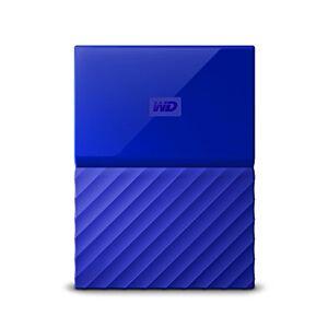 WD BYFT0020BBL-WESN Disco Duro Externo Portátil 2 TB My Passport USB 3.0, Color Azul, 2.5