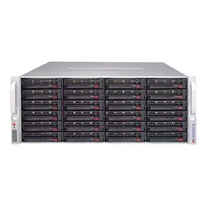 Supermicro 847E1C-R1K28JBOD Estante 1280W Negro gabinete de computadora Caja de Ordenador (Estante, Servidor, Negro, Hogar/Oficina, 1280 W, 3.5\)