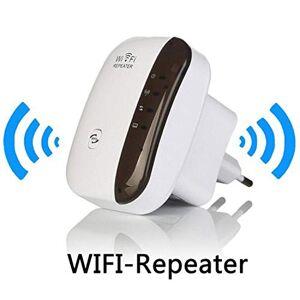 Leruya Repetidor WiFi inalámbrico Ap 300mbps Alcance del enrutador Extensor de señal 802.11