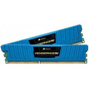 Corsair Vengeance Blue 8GB (2x4GB) DDR3 1600 MHz (PC3 12800) Desktop Memory (CML8GX3M2A1600C9B)