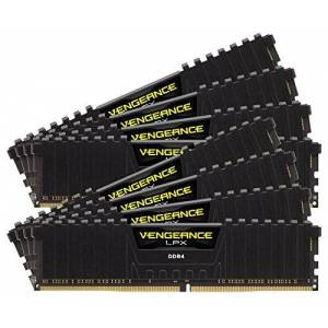 Corsair Vengeance LPX 128G, DDR4, 2933MHz módulo de Memoria (DDR4, 2933MHz, 128 GB, 8 x 16 GB, DDR4, 2933 MHz, 288-pin DIMM, Negro)