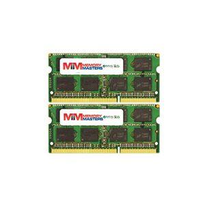 MemoryMasters Memoria RAM de 8 GB (2 x 4 GB, compatible con Acer Mate TravelMate 5742G DDR3 SO-DIMM 204 pines, PC3-10600 (1333 MHz)